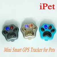 Wholesale Gprs Tracker For Kids - V30 Waterproof wifi Pet Mini GPS Tracker GSM GPRS phone APP Real-Time tracking for dogs cats kids theft with global GPS location Ann