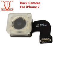 Wholesale Iphone Flash Repair - Back Rear Big Camera Module Replacement Part for iPhone 7 iPhone7 Cam Lens Flex Cable Repair Parts with Flash Cam Ribbon Lens Flex