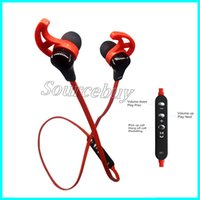 New Horns Hanging Design Confortable Écouteurs Bluetooth D21 Neckband Real Stereo Chip Headset Sport Running In Ear Wireless Headphone Cheap
