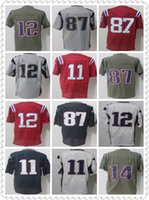Wholesale Toms Sale Cheap - Hot Sale Cheap stitched Jerseys 12 Tom Brady 87 Rob Gronkowski Gray II Limited Jersey Mesh Batting Jersey Embroidery and 100% Stitched