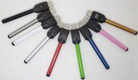 Wholesale Cigarette Automatic Battery - Bud O Pen CE3 Vape Touch Battery Automatic 280mah with USB Charger E Cigarette Wax Oil Pens 510 Thread for CE3 Vaporizer Pen