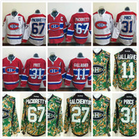 Wholesale Montreal Canadiens Ice Hockey Jerseys Winter Classic Brendan Gallagher Alex Galchenyuk Carey Price Max Pacioretty P K Subban