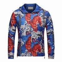 Wholesale Mens Casual Jackets Sale - Hot sale Autumn Mens fashion hoodies Outerwear Long Sleeve Sweatshirts casual sport 3D Animal Print Hoodie Jacket Coats