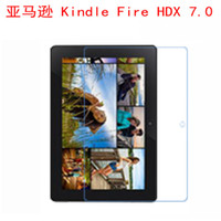Wholesale Kindle Hd Covers - Wholesale- Ultra Clear HD Clear glossy Screen Protector Screen protective Guard Cover Film For Amazon Kindle Fire HDX 7 HD X7 HDX7