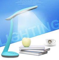 natürliches licht büro großhandel-LED Lesen Augenschutz Schreibtischlampe Einstellbare Helligkeit Lampe Büro Flexible Led Tischlampe Lesen Led-Licht Natürliches Licht