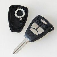 Car keyless entrée clé à distance shell pour chrysler 3 + 1 bouton clé blank case fob cover