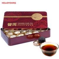 Wholesale Mini Tea Tins - C-PE052 Promition China Mini Tuocha Yunnan Puer Tea Puerh health tea tin packaging Black Tea Flavor Pu'er
