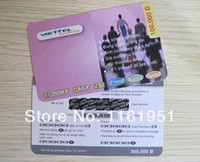 Wholesale hot sale scratch card for lottery ticket