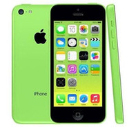 Wholesale apple iphone 5c online - Original iPhone C Dual Core IOS8 GB GB GB Inch IPS Refurbished Unlocked Phones