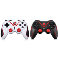 Wholesale Game Controller Joystick Xbox - Gen Game S5 Wireless Bluetooth Gamepad Joystick for Android Smartphone Tablet PC Remote Controller With Holder