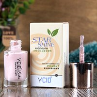 Оптово-Professional Foundation Face Star Shine Face Glow Natural Яркий Liquid Highlighter коррекции цвета Пигмент Maquiagem Make Up