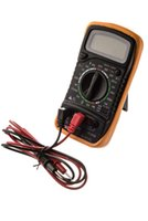Wholesale Multimeter Circuits - Digital LCD Voltmeter Multimeter Ammeter Volt OHM AC DC Voltage Circuit Tester SG145-SZ