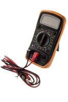 voltaj devreleri toptan satış-Dijital LCD Voltmetre Multimetre Ampermetre Volt OHM AC DC Gerilim Devre Test Cihazı SG145-SZ