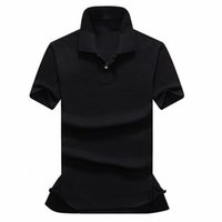 Wholesale High Quality Small Horse Polo Men USA Brand Turn Down Collar Polos Male Summer Short sleeve Cotton Casual Clothing
