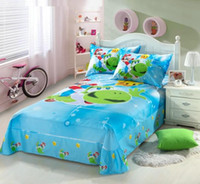 Wholesale Girls Crib Sheets - Students 4pcs Bedding Super mario Bedding Set Children's Gift BED SHEET DUVET COVER Free Shipping TT22