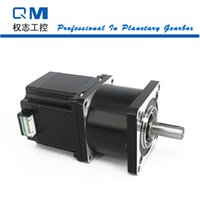 Wholesale Cnc Nema 23 Motors - High precise nema 23 gear stepper motor L=54mm 3.0A with planetary gearbox ratio 4:1 for CNC