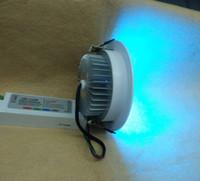 focos reflectores led para el hogar. al por mayor-envío gratis a Europa 4 cables rgb 18W led down light DC 24V 10pcs / lot utilizado para teatros de ópera y grandes salas de música