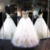 Wholesale Cheap Ball Dresses For Women - Cheap Ball Gowns Prom Dresses for Pageant Women 2017 Real Pictures Lace up Corset Sexy Sweetheart Quinceanera Dresses Sweet 16 Years