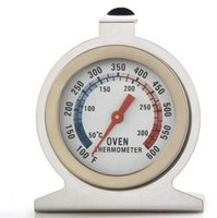 Wholesale Stainless Toaster - Stainless steel oven thermometer double scale oven temperature range 50-300 toaster