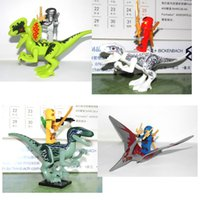 Wholesale Ninjago Action Figures - 4styles Building Action Figures Dinosaurs Toys Bricks Ninjago Fangpyre 15cm #02