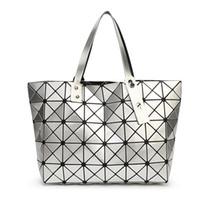 Wholesale Two Fold - Wholesale-Hot Sale With BAOBAO Bag Folding Handbag fashion handbags Bao Bao Bag Fashion Casual Tote Fashion Women Tote Japan Quality