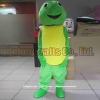 Wholesale Tortoise Mascot Costume - tortoise mascot costume free shipping, cheap high quality carnival party Fancy plush walking Turtles mascot adult size.