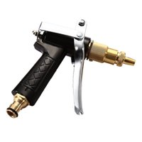 Wholesale Water Supply Pressure - Wholesale- All Copper High Pressure Vehicle Water Spray Gun Household Garden Washing Supplies Meticulous Handle Design Long Service Life