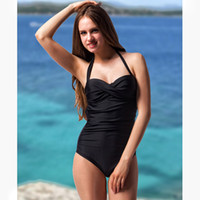 Two-Piece Suits sports coverage - 2017 New Style Sports wear Women s swimwear one piece swimwear bikini set Moderate coverage bottom Plus Size