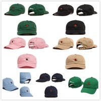 Wholesale Hat Strap - Brand The Hundreds Rose Strap Back Cap Men Women Adjustable Golf Snapback Baseball Hat Summer Fashion Casquette Snapbacks