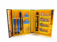 Wholesale Ipad Mini Hand - Precision 38 in 1 Repair Tools Electron Torx Mini Magnetic Screwdriver Tool Set Hand Tools Kit Opening Repair for iphone 6 Samsung ipad