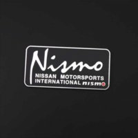 Wholesale Custom Logo Vinyl Stickers - 80*39mm Automobile Emblems Nismo Logo Car Styling Self Adhesive Glossy Custom Metal Car Sticker Design Motorcycle Accessories