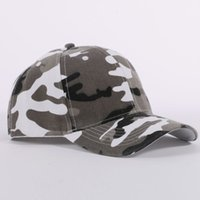 Wholesale Jungle Mesh - Men and Women Camouflage Half Mesh Army Hat Baseball Cap Desert Jungle Snap Camo Cap Hats