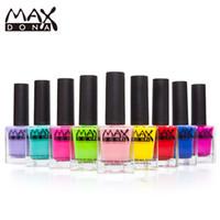 Wholesale Bear Nail Polish - Wholesale- MAX Nail Polish 30 Colors Water-borne environmentally friendly non-toxic Peelable nail polish