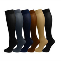 Wholesale Miracle Socks Color Anti Fatigue Compression Stocking Socks Calf Support Relief Pain for Women Men b898