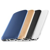 Wholesale Portable Emergency External Battery Charge - JOYROOM 8000 mAh Power Bank Dual USB Powerbank Portable Emergency External Battery Fast Charging Charger for iPhone 8 Samsung Table PC