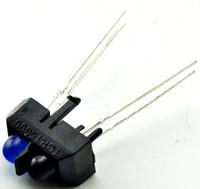 Wholesale Ir Photoelectric Switch - Wholesale- 10pcs TCRT5000 TCRT5000L IR Reflective Infrared Light Emitting Diode Lamp Optical Sensor Photoelectric Switches