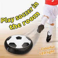 Wholesale Indoor Outdoor Hover Football Toy Air Power Foot ball Boys Girls Sport Toys Training Football Levitate Football