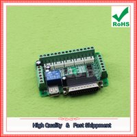 Wholesale Engraving Interface - Free Shipping 3pcs MACH3 Engraving Machine 5-Axis Stepper Motor Driver Interface With Optocoupler Isolation (C7A1)