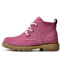 Wholesale Low Heels Online - Free shipping! Winter women waterproof outdoor boots genuine leather fashion women casual boots online cheap sale!