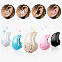 Wholesale Bluetooth Earphones For Cell Phone - Ultra Smallest S530 Mini Wireless Bluetooth V4.0 Earphone Headphones In-Ear Headset With Microphone For All Cell Phone retail