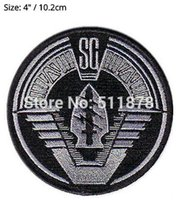 Patches special forces movies - 4 quot STARGATE SPECIAL FORCES Movie TV Show Series Costume Cosplay Embroidered Emblem iron on patch Baseball Cap Badge