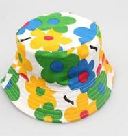 Wholesale Owl Warmer - New baby cotton sun hat bucket hat fisherman hat owl spring cotton warm spring sun