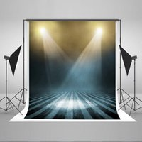 Wholesale Stage Decoration Children - Stage Decorations Photography Backdrops for Photographers Lighting Photo Background Cotton Collapsible Stripe Floor Backdrops J01093