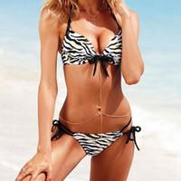 Wholesale Young Girls Bikinis - Sexy Brazilian Thong Bikini Set 2017 European Style Summer Beach Swim Young Girl Micro Swimwear Maillot De Bain Sequins Swimsuit