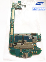 Wholesale S3 Lte - Unlocked Original Motherboard Google For Samsung GALAXY s3 i9305 lte unlocked mainboard free shipping