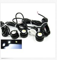 3w Led Drl Pas Cher-23MM High Power White 3W LED Eagle Eye sous le corps de voiture Lamp DRL Fog Light Motorcycle