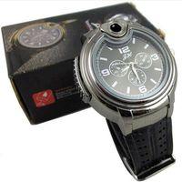 Wholesale Gas Lighter Watch - Xiniu New Brand Casual Military Lighter Watch Men Quartz Refillable Butane Gas Cigar Watches Men Watch Relogio Masculino Felojes