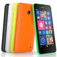 Wholesale 5mp phones - Refurbished Original Nokia Lumia 635 Windows Phone 4.5 inch Quad Core 8GB 5MP Camera 4G LTE Unlocked Mobile Phone Free Post 1pcs