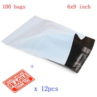 Wholesale mm Waterproof and Tear proof Postal Bags x9 quot White Gray Poly Mailer Envelopes Shipping Bags with Self Adhesive p