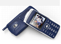 Wholesale Old Chinese Mobile - old people using little mobile phone dual sim card large volume with radio big keys big font Solid exposed antenna 008